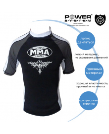 Рашгард Power System 003 Scorpio S Black/White MMA-003_S_White-Black