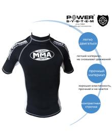 Рашгард Power System 001 Dragon M Black/White MMA-001_M_Black-White