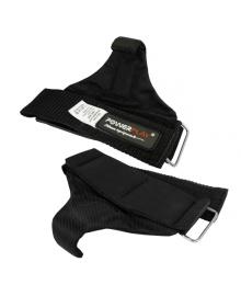 Крюки для тяги на запястья PowerPlay 7053 Черные PP_7053_Black