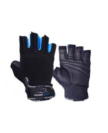 Перчатки для фитнеса PowerPlay 3092 черно-синие S