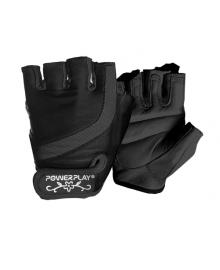 Перчатки для фитнеса PowerPlay 2311 женские Черные S