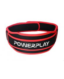 Пояс для тяжелой атлетики PowerPlay 5545 черно-красный (Неопрен) L PP_5545_L_Red