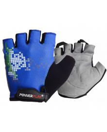 Велоперчатки PowerPlay 002 D Синие M 002D_M_Blue