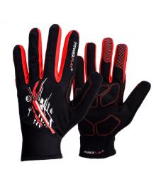 Перчатки для бега PowerPlay 6607 Черно-красные L PP_6607_L_Red/Black