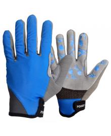 Велоперчатки PowerPlay 6566 Синие S 6566_S_Blue/Grey