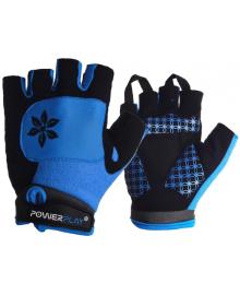 Велоперчатки женские PowerPlay 5284 D Голубые S