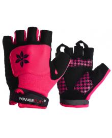 Велоперчатки женские PowerPlay 5284 C Розовые S