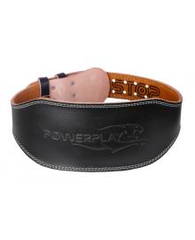 Пояс для тяжелой атлетики PowerPlay 5086 черно-коричневый XS PP_5086_XS_Black
