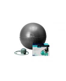 Мяч для фитнеса PowerPlay 4003 75 см Темно-серый
