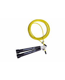 Скакалка скоростная PowerPlay 4202 желтая