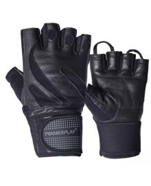Перчатки для фитнеса PowerPlay 1064 черные M