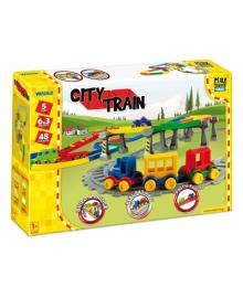 Игровой набор Wader Play Tracks Железная дорога