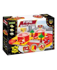 Игровой набор Wader Play Tracks Пожарная команда