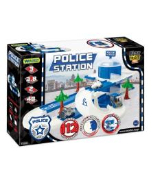 Игровой набор Wader Play Tracks Полицейский участок