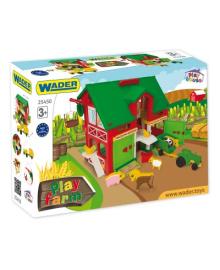 Игровой набор Wader Домик-ферма