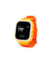 Детские телефон-часы с GPS трекером GOGPS ME K11 Желтые GoGPSme