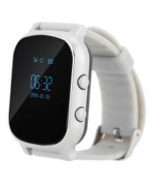 Детские телефон-часы с GPS трекером GOGPS ME К20 Хром GoGPSme