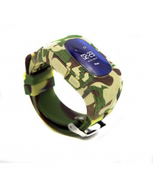 Детские телефон-часы с GPS трекером GOGPS ME K50 Хаки GoGPSme