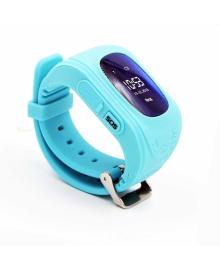 Детские телефон-часы с GPS трекером GOGPS ME K50 Бирюзовые GoGPSme