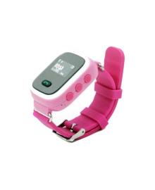 Детские телефон-часы с GPS трекером GOGPS ME K11 Розовые