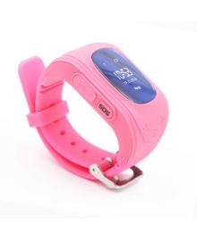 Детские телефон-часы с GPS трекером GOGPS ME K50 Розовые GoGPSme