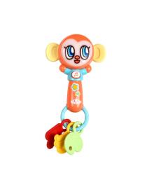 KIDIAN Игрушка погремушка музыкальная KD3101-1 обезьяна