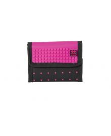 """PIXIE CREW Кошелек """"Горошек"""" с пикселями (100шт.), цвет поля - насыщенный розовый"""