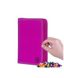 """PIXIE CREW Пенал-книжка """"Горошек"""" с пикселями (100шт.), цвет поля - насыщенный розовый"""