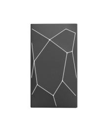 XOOPAR Беспроводная.портативная внеш. аккум батарея - GEO WIRELESS POWERBANK(Li-Pol,5000мА*ч,черн.бел.LED, присоск)