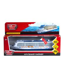 Модель - круизный лайнер (свет, звук)