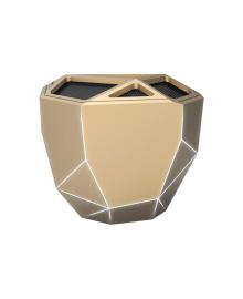 XOOPAR Акустическая система - GEO SPEAKER (золотистая, бел. LED, с Bluetooth, USB-кабелем)