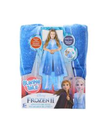"BLANKIE TAILS Плед-платье серии ""Disney: Ледяное сердце 2"" - ЭЛЬЗА"