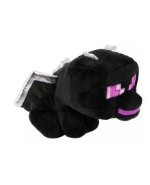 JINX Плюшевая игрушка Minecraft Minecraft Happy Explorer Sitting Ender Dragon Plush Black