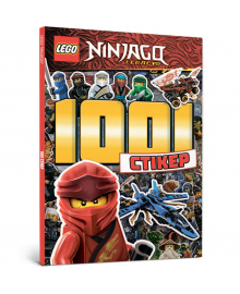 "АРТБУКС Книга "" LEGO® Ninjago. 1001 стикер"""
