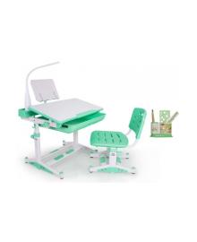 Комплект Evo-kids BD-04 Z New Стол Стул Полка Лампа Mealux, 2100089039651, 2100089039590