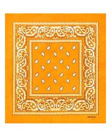 Бандана ковбойская желто-горячая 060820-002