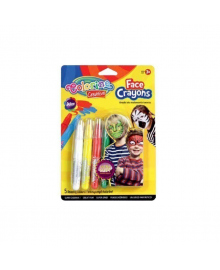 COLORINO мел для лица карандаши 5 цв. стандарт блистер 12