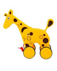 SHANTOU JINXING Игрушка каталка Жираф (арт. 333, в коробке 29*23,5*12 см)