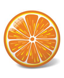 "STAR Мяч ""Апельсин"", 23 см"