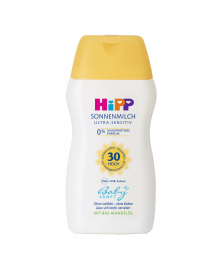 Cолнцезащитное молочко HIPP BabySanft SPF3050 мл