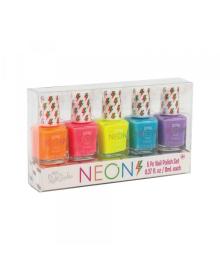MAKE IT REAL 3C4G Набор из пяти лаков для ногтей «Неоновая вечеринка»