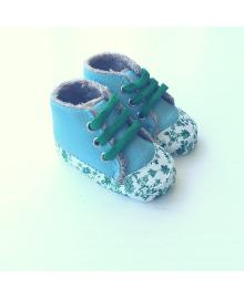 Детские пинетки Lapchu P00189G Блакитний 17,5 (10,5 см)