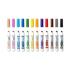 12 тонких фломастерів на водній основі яскравих кольорів, Crayola