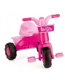 Трёхколёсный велосипед DOLU розовый (2505)