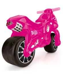 Мотоцикл - беговел DOLU розовый (2528) DOLI