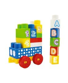 Развивающий детский конструктор DOLU блоки 20 элементов (5026)