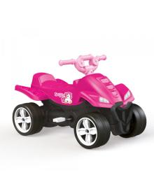 Квадроцикл на педалях DOLU (2565) розовий DOLI