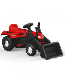 Трактор на педалях DOLU RANCHERO з ковшом (8047) червоний DOLI