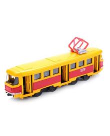 Модель Технопарк Трамвай, 17 см (укр)