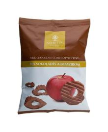 Чипсы яблочные Nobilis в молочном шоколаде, 50 г , 5997690710126